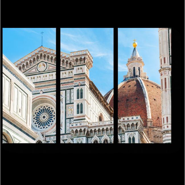 Модульная картина Кафедральный собор, Флоренция