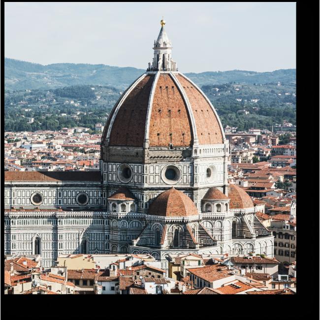 Модульная картина Великолепный вид Флоренции