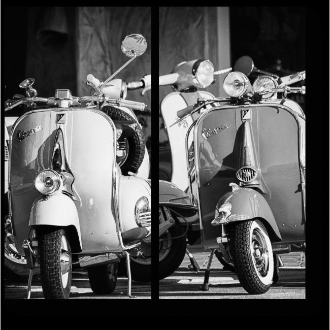 Модульная картина Итальянский транспорт