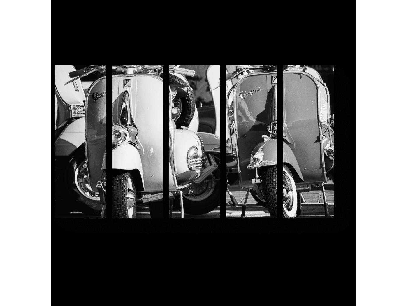 Модульная картина Итальянский транспорт (90x54) фото