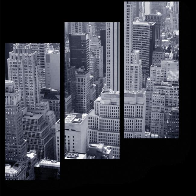 Модульная картина Небоскребы Нью-Йорка