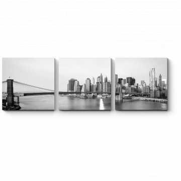 Модульная картина Панорама Манхэттена