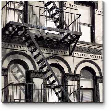 История Нью-Йорка в зданиях