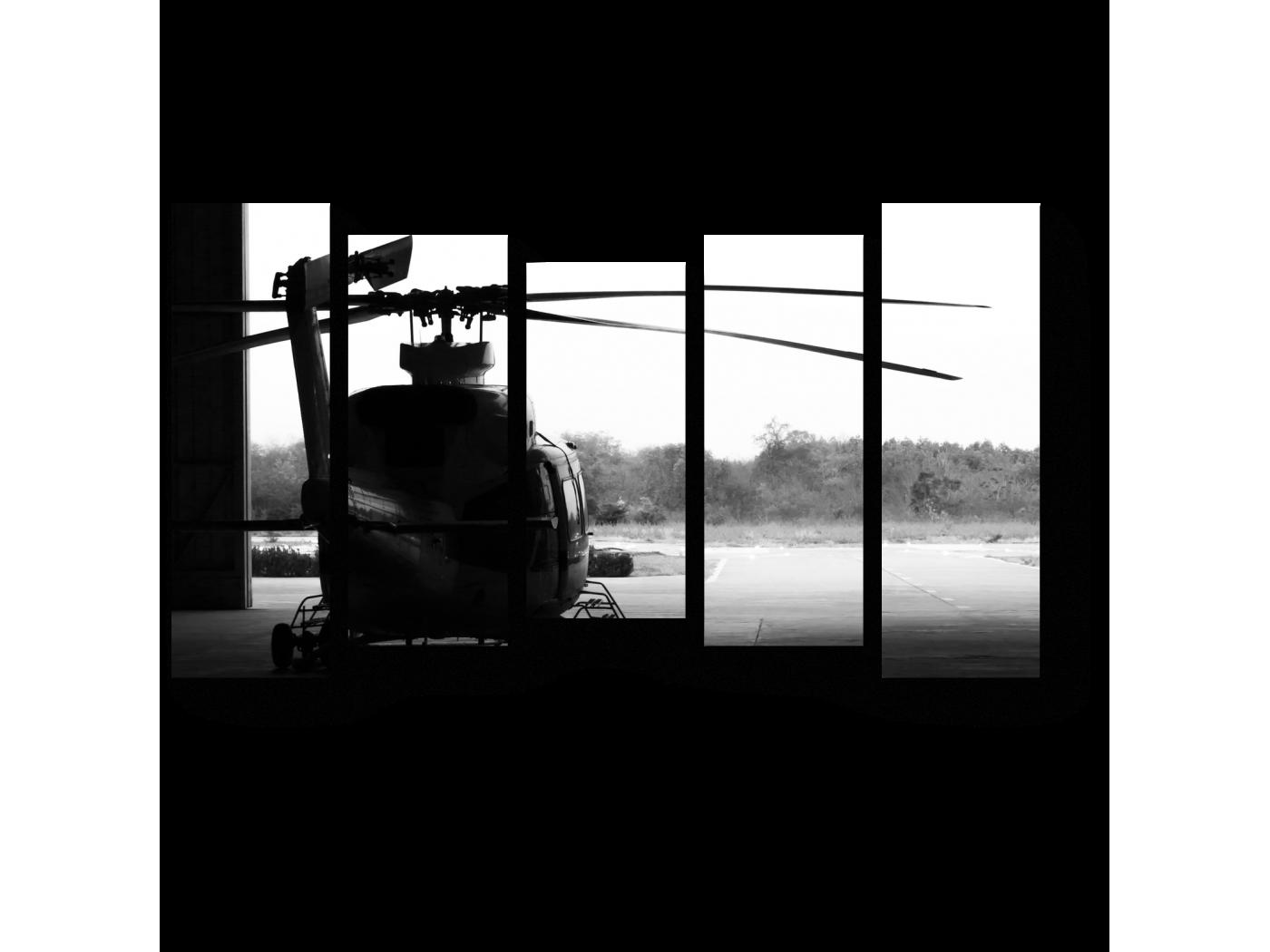 Модульная картина На взлете (90x54) фото