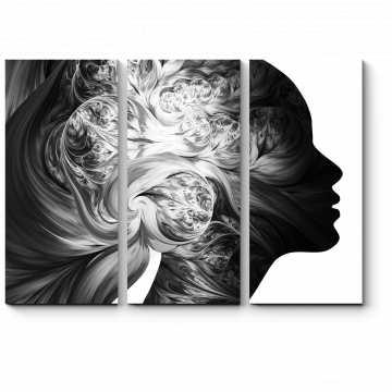 Модульная картина Мать Природа