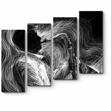 Модульная картина Джаз