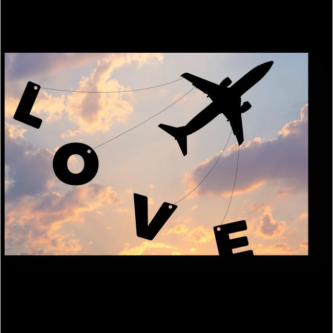 Модульная картина Любовь не имеет границ