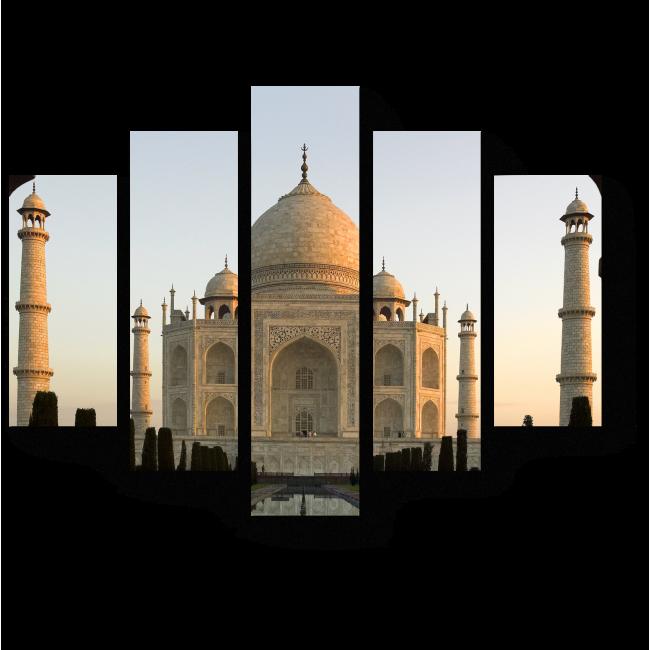 Модульная картина Тадж - Махал в сумерках