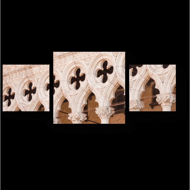 Модульная картина Архитектура Венеции
