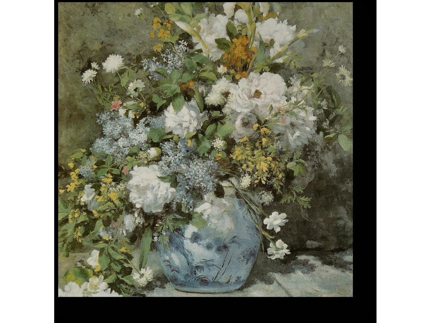 Ренуар весенний букет описание картины