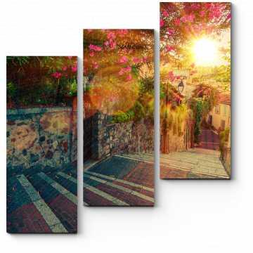 Цветочный маршрут в Каннах, Франция