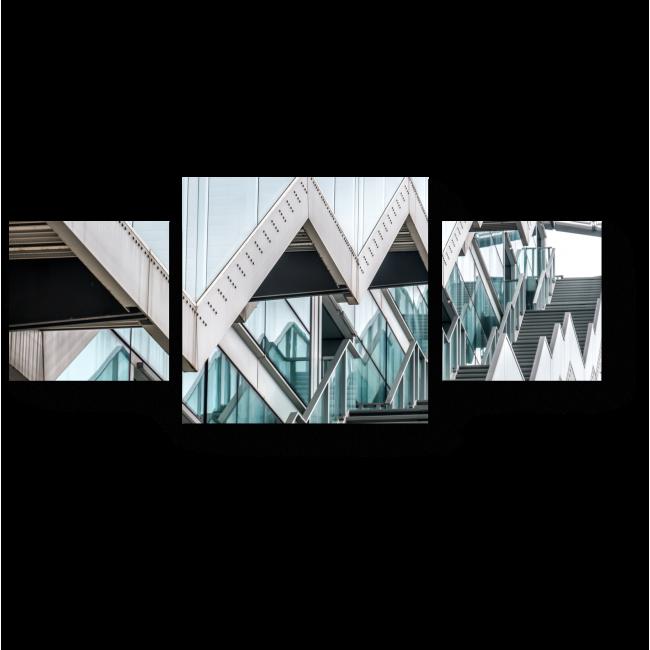 Модульная картина Стекло и металл