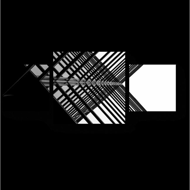 Модульная картина Городская геометрия