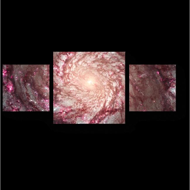 Модульная картина Далекая галактика