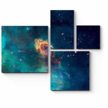 Модульная картина Звездная Вселенная
