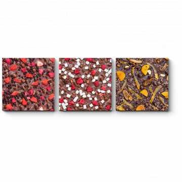 Модульная картина Необычный шоколад