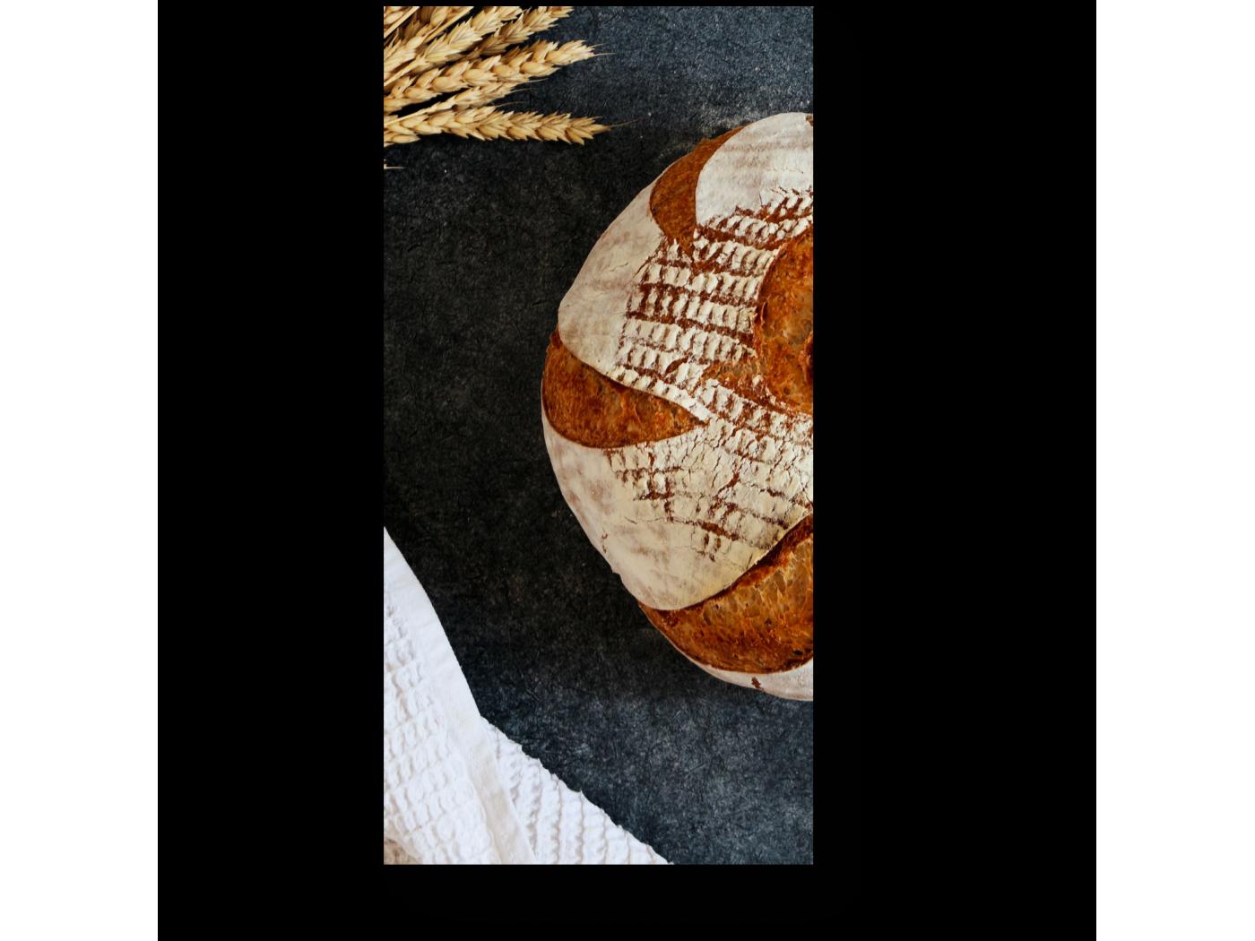 Модульная картина Хлеб-всему голова (20x40) фото