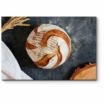 Модульная картина Хлеб-всему голова