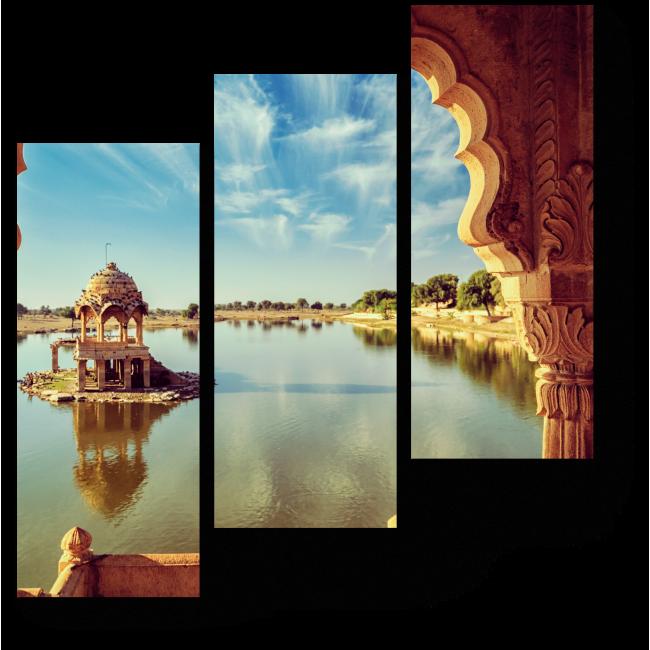 Модульная картина Раджастан, Индия