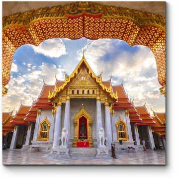 Модульная картина Мраморный Храм