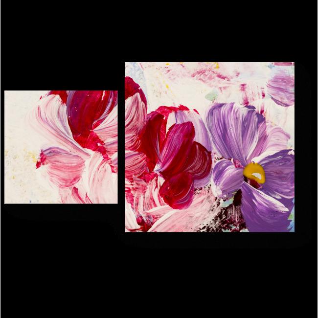Модульная картина Бутоны цветов