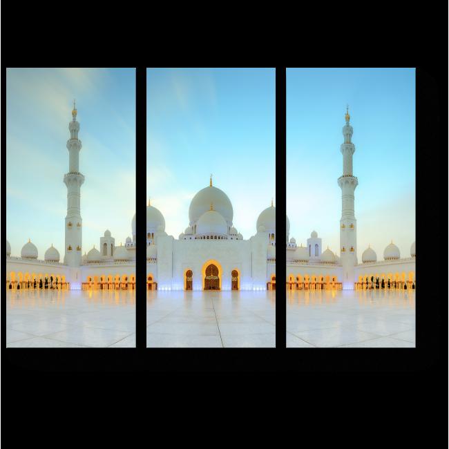 Модульная картина Мечеть Шейха Зайда, Абу-Даби