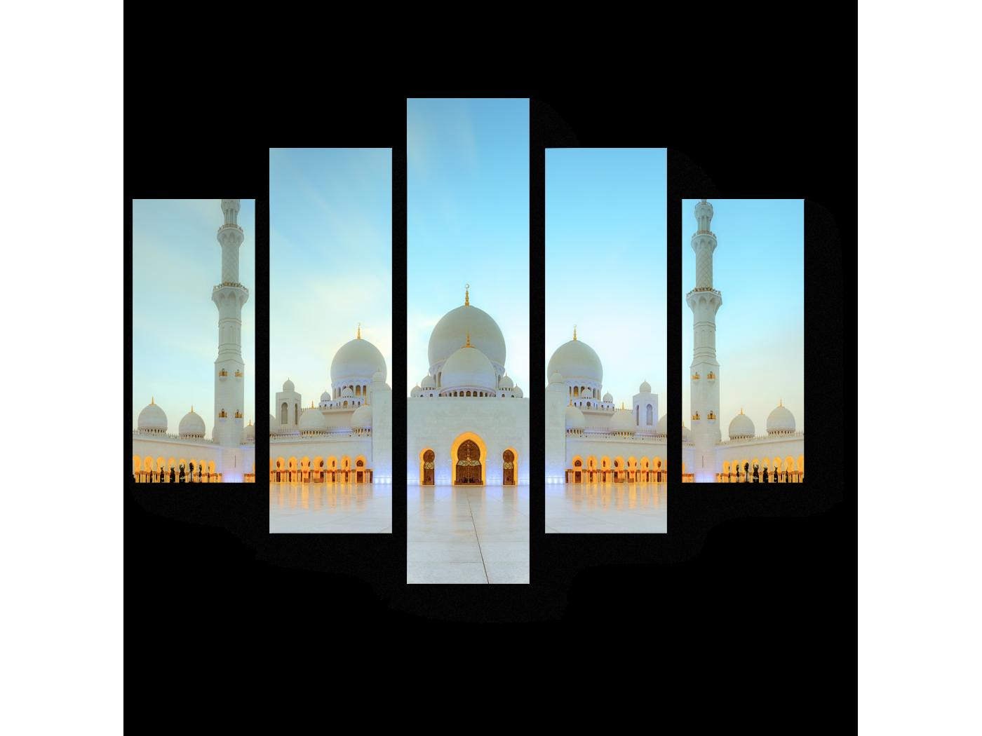 Модульная картина Мечеть Шейха Зайда, Абу-Даби (75x60) фото