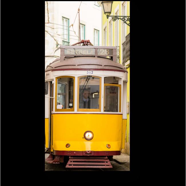 Модульная картина Лиссабонский трамвай