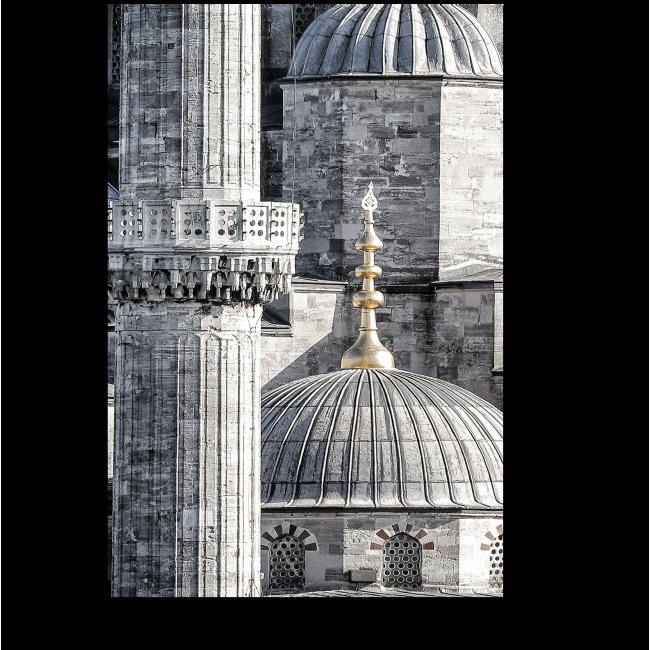 Модульная картина Голубая Мечеть, Стамбул