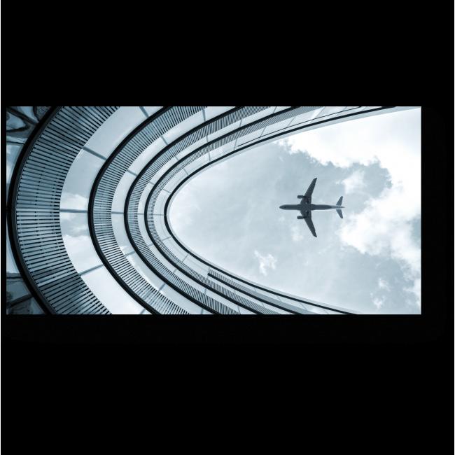 Модульная картина На посадку