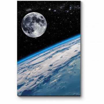 Модульная картина Бескрайние просторы космоса