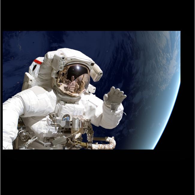 Модульная картина Привет из открытого космоса