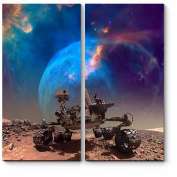 Марсоход на своей миссии