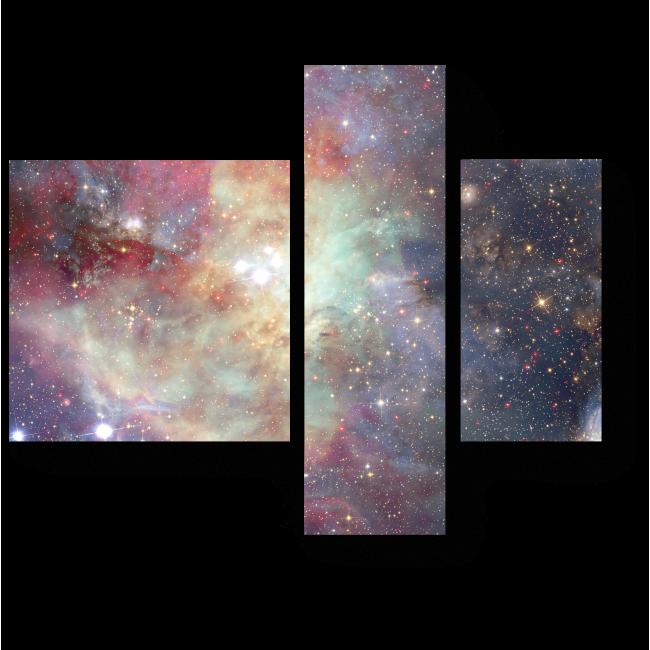 Модульная картина Галактическая бесконечность