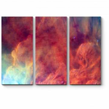 Модульная картина Краски космоса