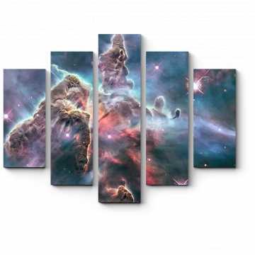 Модульная картина Космос рисует