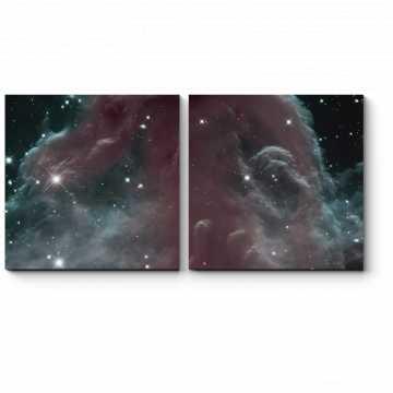 Модульная картина Космический туман