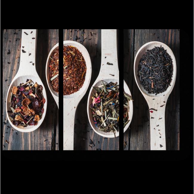Модульная картина Фруктовый чай