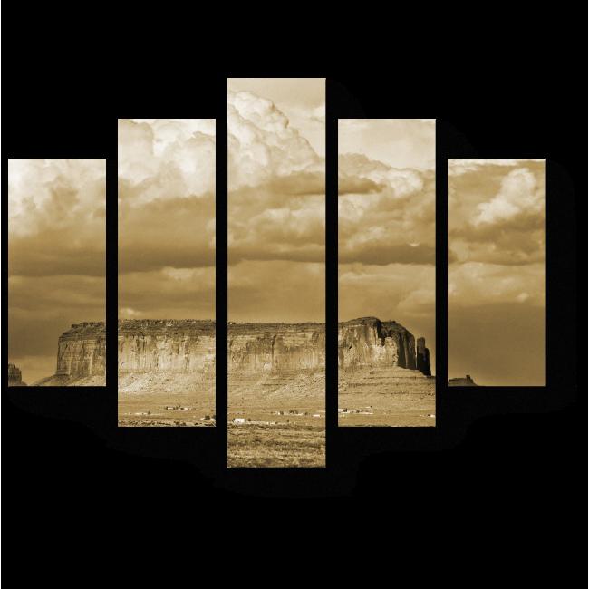 Модульная картина Пустынная долина