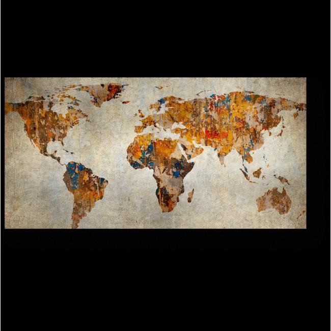 Модульная картина Фантазийная карта