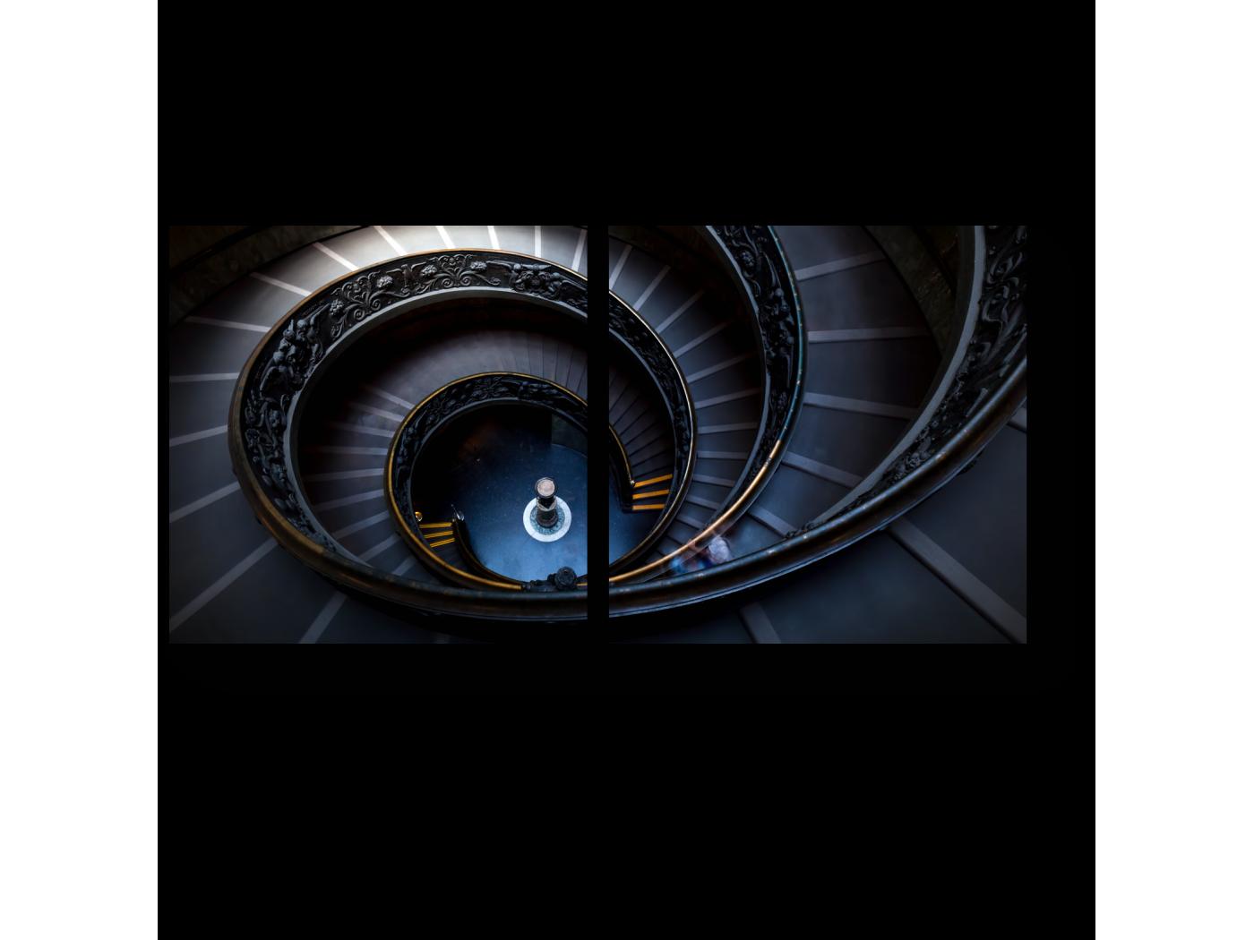 Модульная картина Мистическая атмосфера (40x20) фото
