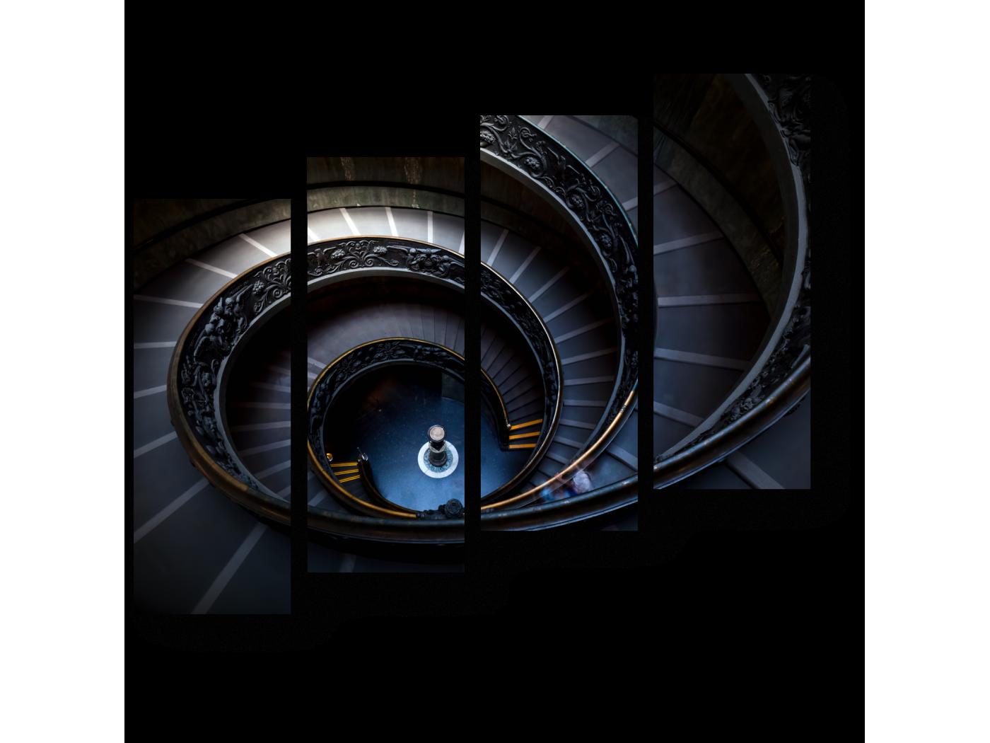 Модульная картина Мистическая атмосфера (80x69) фото