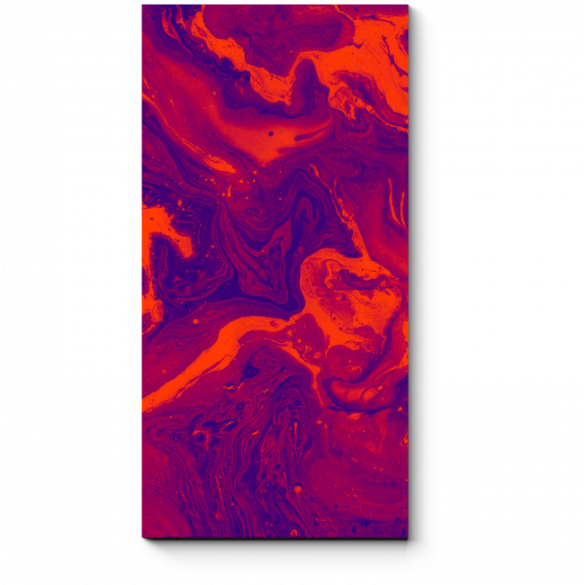 Модульная картина Огненная вода