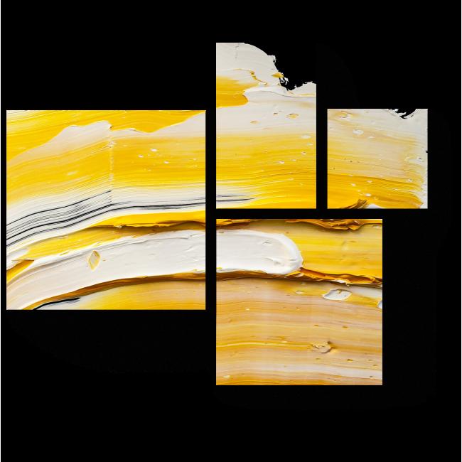 Модульная картина Солнечное масло
