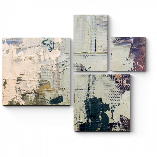 Модульная картина Тучи