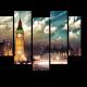 Яркие краски Лондона на закате