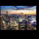 Нью-Йорк в закатных лучах
