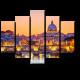 Собор Святого Петра в закатных красках, Рим