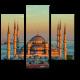 Голубая мечеть в закатных лучах, Стамбул