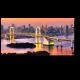 Радужный мост на закате, Токио
